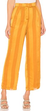 X REVOLVE Alessia Pant in Yellow. - size XS (also in S)