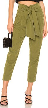 x REVOLVE Leland Pant in Olive. - size L (also in XXS,XS)