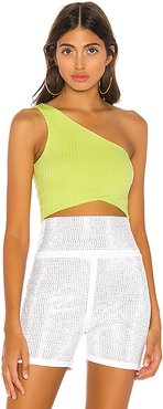 Amy Top in Green. - size M (also in XXS,XS,S,L,XL)