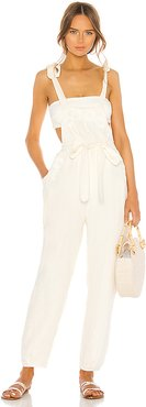 Fava Jumpsuit in Ivory. - size 2 (also in 1,3)