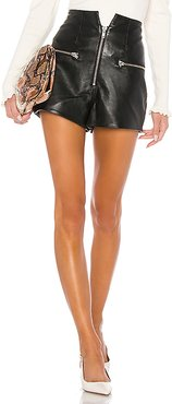 Lorenzo Leather Shorts in Black. - size L (also in XL)
