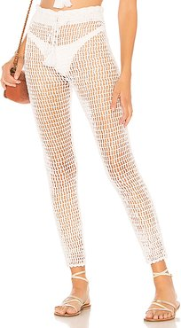 Hilary Pant in White. - size M (also in L,S)