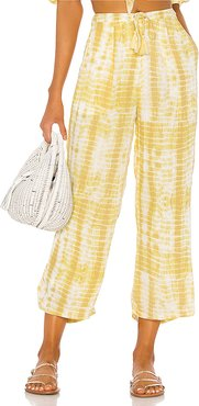 Theo Pants in Yellow. - size S (also in L,M,XS,XXS)