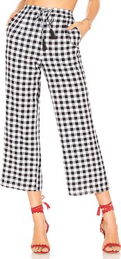 Theo Pant in Black & White. - size S (also in XS)