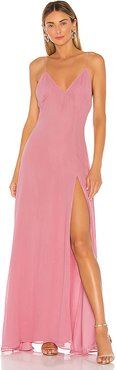 x REVOLVE Janina Gown in Pink. - size S (also in L)