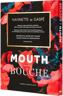 Youth Revealed Restorative Techstile Mouth Masque in Mouth.