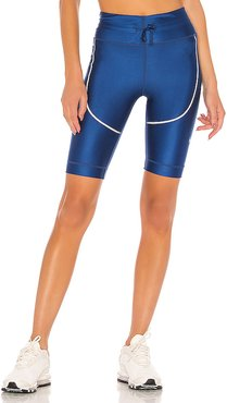 Tech Pack Tight Short in Blue. - size L (also in M)