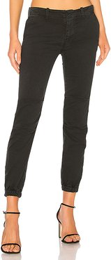 French Military Pant in Black. - size 4 (also in 0,2,6,8)