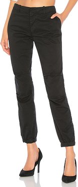 French Military Pant in Black. - size 6 (also in 2,4,8)