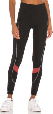 The First Mile Eclipse Tight in Black. - size S (also in XS,M,L)