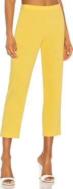Basic Pull On Pant in Yellow. - size 2 (also in 0,6)