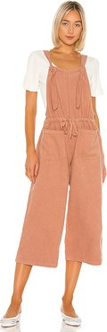 Kasmir Overall in Pink. - size M (also in S,XS,L)