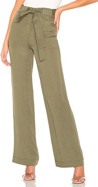 Perrie Pants in Army. - size S (also in M,L)