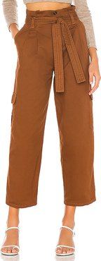 Shae Pants in Brown. - size L (also in XS,S,M)