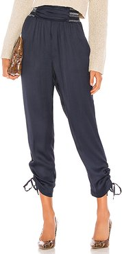 Joey Pant in Navy. - size L (also in XXS,XS,S,M)