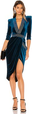 Eye of Horus Dress in Blue. - size S (also in XS)
