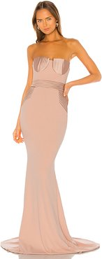Fairmont Gown in Pink. - size L (also in S,XS,M)