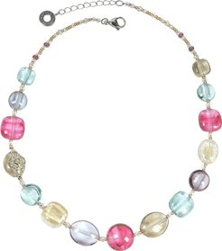 Necklaces Florinda Transparent Murano Glass Beads Necklace