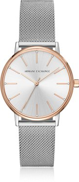 Watches Lola Rose and Stainless Steel Mesh Women's Watch