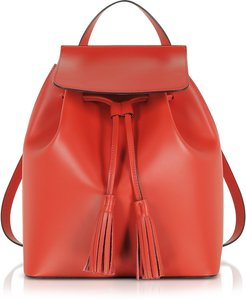 Handbags Genuine Leather Backpack w/Tassels