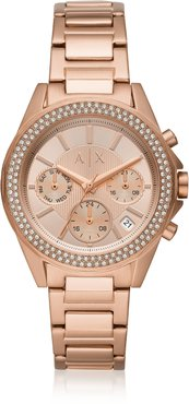 Watches Lady Drexler Rose Gold Tone Chronograph Watch