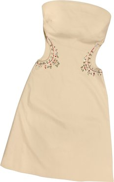 Tops & Co Opale Crystal Decorated Cut Out Strapless Dress