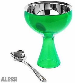 Kitchen & Dining Big Love Ice Cream  Cup and Spoon