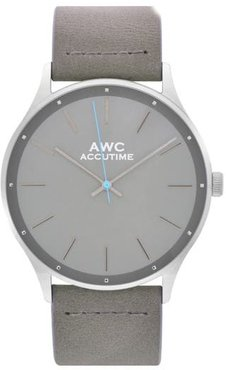 Mark Suede Strap Watch, 42Mm