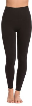 Spanx Look At Me Now' Seamless Leggings, Size X-Large - Black