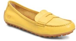 B?rn Malena Driving Loafer, Size 5 M - Yellow