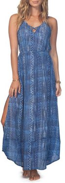Blue Tides Maxi Dress
