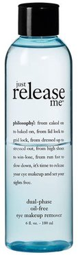 'Just Release Me' Dual-Phase Oil-Free Eye Makeup Remover -
