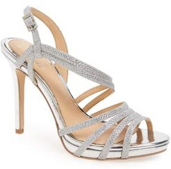 Humble Strappy Sandal, Size 6.5 M - Metallic