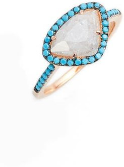 Crystal Turquoise Ring