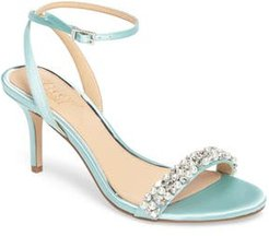 Jewel By Badgley Mischka Theodora Ankle Strap Sandal, Size 9 M - Green