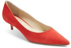 Butter Born Pointy Toe Pump, Size 5.5 M - Red