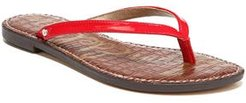 Gracie Sandal, Size 6.5 M - Red