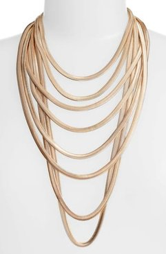 Flat Chain Layer Necklace