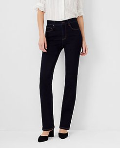 Sculpting Pockets Slim Boot Cut Jeans in Classic Rinse Wash