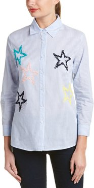 Star Patched Blouse
