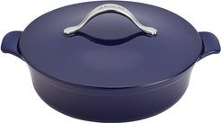 Vesta Cast Iron 5qt Round Covered Braiser