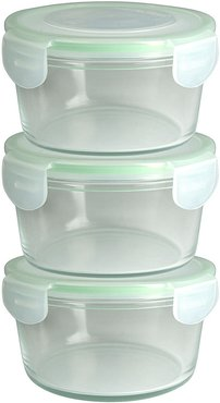 Snap and Seal 3pc Round Container Set