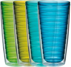 Set of 4 24oz Insulated Tumblers
