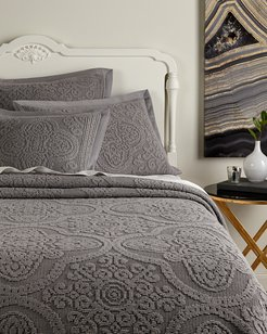 Semi-Sheer Chenille Coverlet Collection