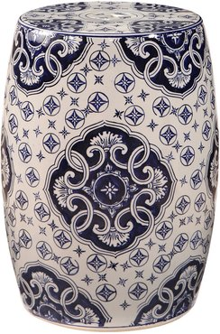 Dynasty Hand Painted Floral Ceramic Garden Stool