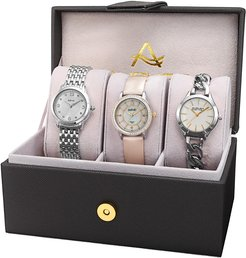 Set of 3 Diamond Watches