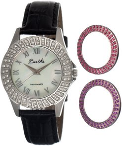 Audrey Watch with Interchangeable Bezel