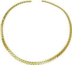 14K Plated Collar Necklace