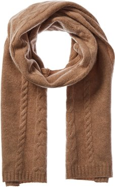 Qi Cashmere Cashmere Cable Scarf