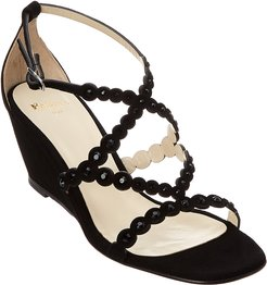 Nory Suede Wedge Sandal